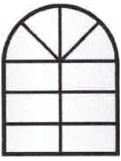 Witrażowe okno nr 1