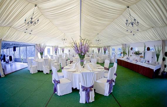 Wielofunkcyjny namiot halowy na wesele