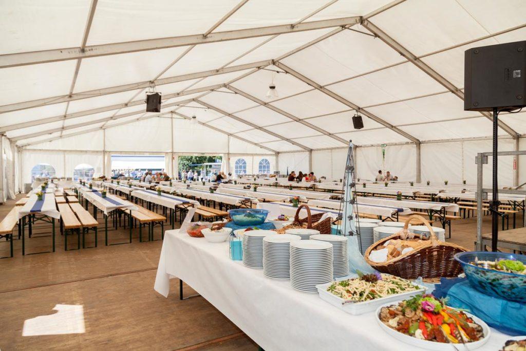 Namiot halowy na imprezę weselną